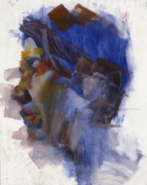 Portrait #1, oil on canvas, 2015