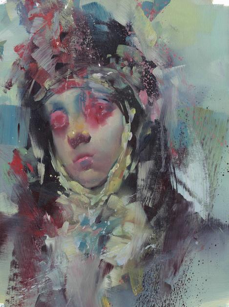 Portrait#10, oil on canvas, 2016