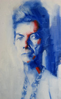 """Bowie""-  oil on canvas (2007)"