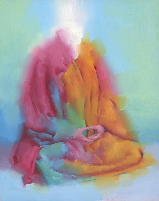 """""""Inner World"""", oil on wood, 8"""" x10"""", 2014"""